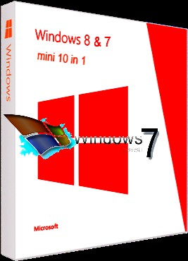 Windows 7 & 8 (10in1) mini by bukmop [x86+x64] (2013) русский