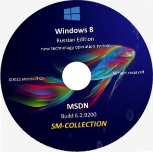Microsoft windows 8 enterprise & pro x86-х64 ru sm-collection (12 in 1) by lopatkin (2012) русский